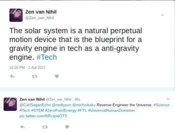 STEM: UFO, Moscovium Element 115, Aethereal Free Energy